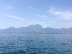 Lake Garda- toscolano to Torri del Benaco sitio de stand up paddle / paddle surf en Italia
