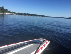 Sand Point Lake Washington Seattle, U.S.  spot de stand up paddle en États-Unis