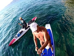 Buggerru sitio de stand up paddle / paddle surf en Italia