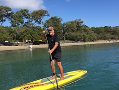 Torquay  paddle board spot in Australia