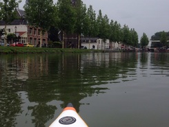 Abcoude - Weesp - Muiden spot de stand up paddle en Pays-Bas
