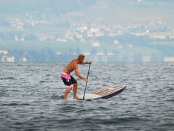 Gigi's Paddle Cup paddle board spot in France