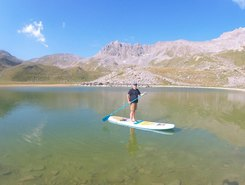 Lac du Pêtre sitio de stand up paddle / paddle surf en Francia