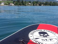 Gland paddle board spot in Switzerland