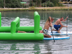 Base Nautique spot de stand up paddle en France