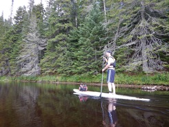 Lac-simon paddle board spot in Canada