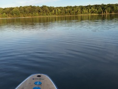 White Lake paddle board spot in United States