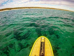 Warroora station paddle board spot in Australia