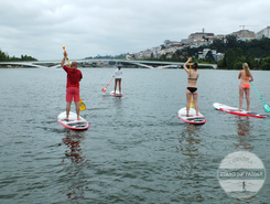 Parque Verde do Choupalinho paddle board spot in Portugal