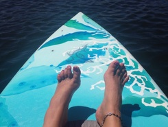West Gilgo Beach paddle board spot in United States