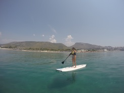 Sperlonga sitio de stand up paddle / paddle surf en Italia