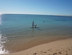 Osprey Bay - Ningaloo Reef - Exmouth WA  spot de stand up paddle en Australie