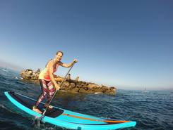 San Clemente, CA paddle board spot in United States