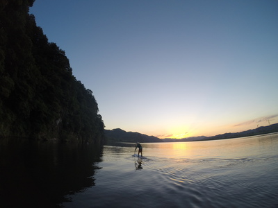 Namji paddle board spot in South Korea