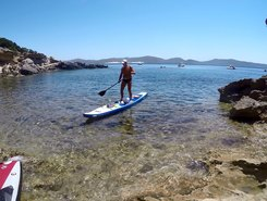 Candiani paddle board spot in Italy