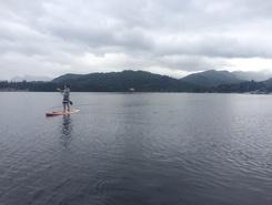 Lake District  sitio de stand up paddle / paddle surf en Reino Unido