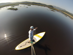 Rio pequeno billings spot de stand up paddle en Brésil