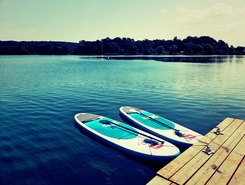 Bagr paddle board spot in Czech Republic
