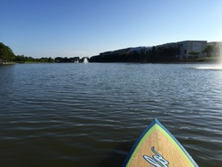 Brooks Lake paddle board spot in United States