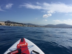 Baie des Anges  spot de stand up paddle en France