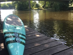 Haynspark paddle board spot in Germany
