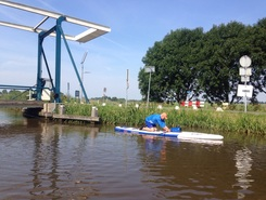 Ronde hoep polder sitio de stand up paddle / paddle surf en Países Bajos