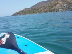 Taganga spot de stand up paddle en Colombie