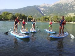 lac d'Eygliers paddle board spot in France
