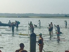 Strathmere Bay, NJ paddle board spot in United States