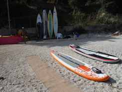 Cap Ferrat sitio de stand up paddle / paddle surf en Francia