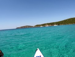 Tuerredda sitio de stand up paddle / paddle surf en Italia