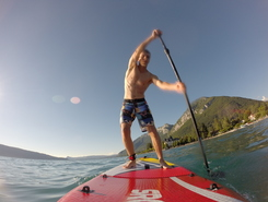 Menthon sitio de stand up paddle / paddle surf en Francia