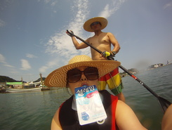 Jin-ha spot de stand up paddle en Corée du Sud