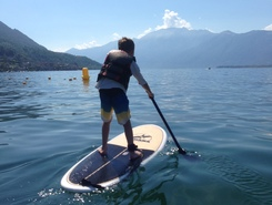 Toucan Club paddle board spot in Switzerland