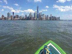 Hudson River - Pier 40 spot de stand up paddle en États-Unis