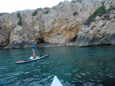 Sant' Antioco paddle board spot in Italy