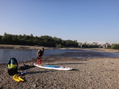 Stryi spot de stand up paddle en Ukraine