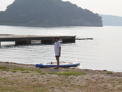 Notojima Dolphin smile spot de stand up paddle en Japon
