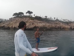 Rincon de la Victoria paddle board spot in Spain