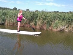veersewatergang paddle board spot in Netherlands