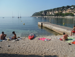 Cap Ferrat paddle board spot in France
