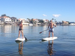 Budds Beach paddle board spot in Australia