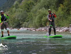 soča paddle board spot in Slovenia