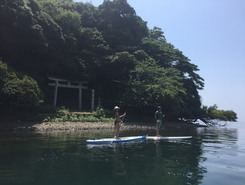 KINOMOTOCHO YAMANASHI 木之本町 山梨子 spot de stand up paddle en Japon