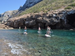 Marina de Denia paddle board spot in Spain