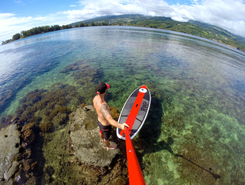 Pointe Venus  paddle board spot in French Polynesia