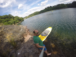 Liefrange paddle board spot in Luxembourg
