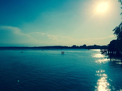 Stegen am Ammersee paddle board spot in Germany
