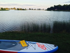 Kristianopel-Lundsborg paddle board spot in Sweden