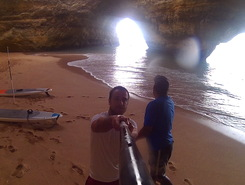 Benagil Caves paddle board spot in Portugal